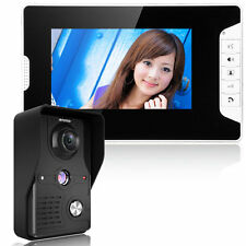 "Wired 7"" LCD Video Door Phone Doorbell Home Intercom System IR Camera 1-Monitor"