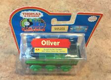 2006 Authentic Wooden Thomas Train Limited Edition Green Wheels Oliver! NIB!