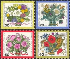 Germany (B) 1974 Relief Fund/Wild Flowers/Plants/Nature/Welfare 4v set (n28121a)