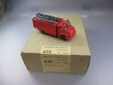 Wiking:Original Händlerkarton Nr.623 mit 1 X MB Rundhauber Feuerwehr    (GK40)