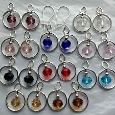10Pairs SP Earring Charms Jewelry 2 Sterling Silver Interchangeable Kidney Wires