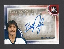 ITG Forever Rivals Bill Derlago Toronto Maple Leafs Autograph Card Look! #A-BD