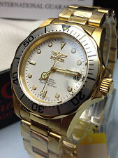 INVICTA 8931 MEN'S PRO DIVER COLLECTION AUTOMATIC 21J STAINLESS STEEL GOLD WATCH