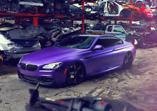 BMW 6 SERIES TUNING VOSSEN NEW A3 CANVAS GICLEE ART PRINT POSTER