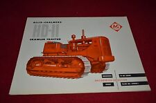Allis Chalmers HD-11 Crawler Tractor  Dealer Brochure YABE11 Ver43