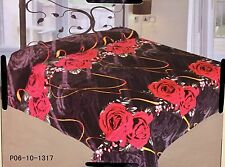 New Ultra Soft Flannel Plush Queen Size Velvet Cozy Blanket  Bedspread Get Gift