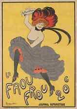 A4 Photo Cappiello Leonetto 1875 1942 Le Frou Frou 1899 Print Poster