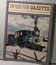 NARROW GAUGE & SHORT LINE GAZETTE  Sept/Oct 1982 NG&SLG