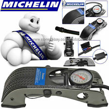 MICHELIN 12200 Single Barrel Car Bicycle Bike Cycle Tyre Infaltor Foot Pump
