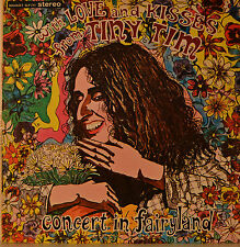 "TINY TIM - CONCERT IN FAIRYLAND  12""  LP (M586)"