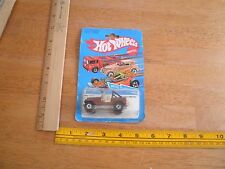 Hot Wheels Jeep CJ-7 Metal Flake Paint 3259 MOC 1982 Vintage