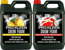 SNOW FOAM CAR SHAMPOO WAX MIXED 10 LITRES VEHICLE WASH VALET CLEANING SHINE