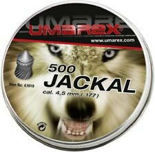 UMAREX Jackal Diabolo 4,5 mm Luftgewehrkugeln