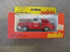 Solido Toner Gam Hotchkiss Pompier Premiers Secours #2000 MIB See My Store