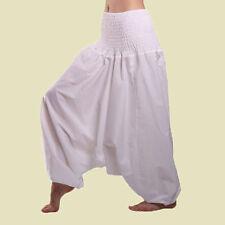 Cotton Harem Fisherman Pants Women Yoga Afghani Men Aladdin Trouser Jaipur