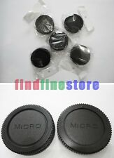 5x Rear lens and Body cap / cover for Micro 4/3 M4/3 mount Wholesale lots 5 pcs