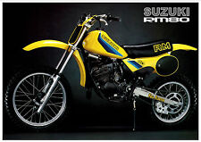 SUZUKI Poster RM80 1982 VMX Suitable to Frame