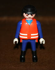 Playmobil personnage homme pompier 4578 ref nn