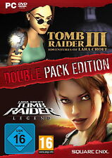 Tomb Raider III & Tomb Raider Legend Double Pack (PC, 2013, DVD-box)
