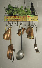 Hanging Tool Rack Quincaillerie Kitchen Hook Tray Multi Functional Saucepan Rack
