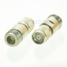 2pcs Conversion Adapter N female F to RP*TNC male M coaxial connector for WIFI