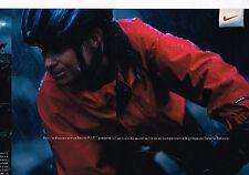 PUBLICITE ADVERTISING 035  1996  PUMA blouson STORMFIT ISABELLE PATISSIER( 2p)