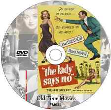 The Lady Says NO  - David Niven, Joan Caulfield  Film on DVD 1952