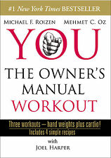 YOU:THE OWNER'S MANUAL WORKOUT-DVD-3 Workouts-Band Weights,Cardio,Recipes- Dr OZ