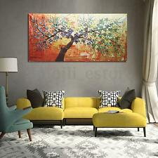 Modern HD Abstract Oil Painting Print Canvas Tree Large Wall Art Decor No Frame