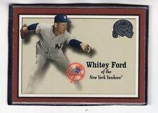 "2000  WHITEY FORD - Fleer ""Greats of the Game"" Baseball Card # 69 - N.Y. Yanks"