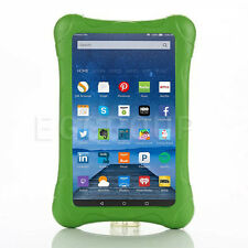 "New Kids Safe Rugged Shock Proof Case Cover For Amazon Kindle Fire7 7"" 5th Green"