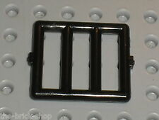 Grille LEGO black bar ref 6016 / Set 6598 6765 6484 4557 6636 4541 6496 5848 ...