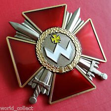 Soviet Ukraine Order cross medal Bogdan Khmelnitsky, PERFECT Mint condition