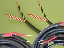 Straightwire Symphony SC speaker cables 8' standard stereo pair NEW! Bananas