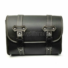 PU Leather Saddle Tool Bag Fit Honda Shadow Spirit Aero Ace VT 750 1100 VTX1300