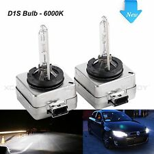 D1S 35W OEM HID Xenon Headlight Bulbs Replacement for Philips or OSRAM 6000K x2