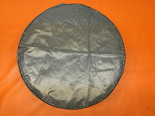 VINTAGE GRAY HOUNDSTOOTH TRUNK SPARE TIRE COVER LOOSE FIT FORD CHRYSLER GM GTO