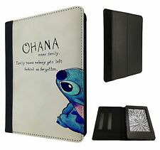 Ohana familia significado Divertida Funda Flip Cover Para Kindle Paperwhite 6""