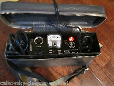 ORIGINAL SWISS BOLEX BATTERY + CHARGER for BOLEX EBM EL 16MM MOVIE CAMERA