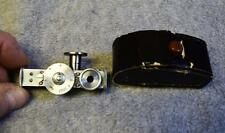 Vintage Camera Rangefinder Distance in Feet w/Case