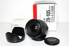 Canon EF 28-105mm f3.5-4.5 USM Lens *Excellent+++* From Japan Free Shipping