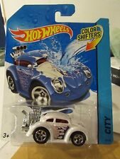 Hot Wheels Volkswagen Beetle City Color Shifters White