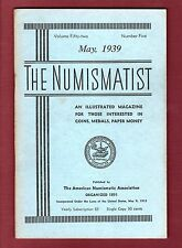 THE NUMISMATIST Magazine: MAY 1939 American Numismatic Association