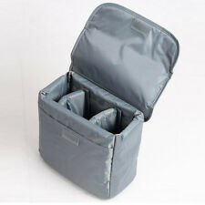 Waterproof DSLR SLR Camera Insert Padded Partition Lens Bag For Canon Nikon Sony