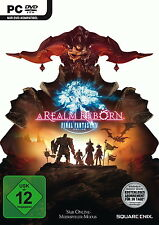 Final Fantasy XIV - A Realm Reborn PC DVD + Key deutsche Version Neu & Ovp