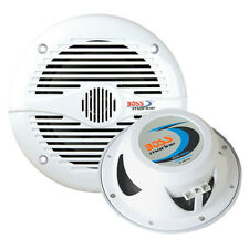 "Boss Audio MR60W 6.5"" Round White Marine Speakers"