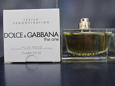 Dolce & Gabbana The One Women Perfume 2.5 oz Eau de Parfum Spray Tester New