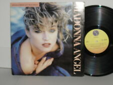 MADONNA Angel + Into the Groove 12 Inch vinyl 45 rpm PS Nile Rodgers 1985