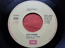 IRON MAIDEN-TWILIGHT ZONE RARE YUGOSLAVIA 7'' 1981 NO COVER
