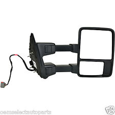 NEW OEM 2011-2015 Ford Super Duty RIGHT Power Heated Signal Lamp Towing Morror